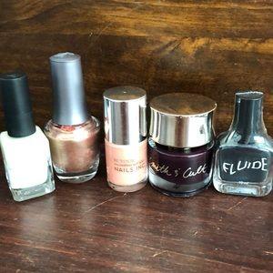 5 new nail polishes